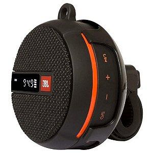 Caixa de Som JBL Wind 2 Suporte para Motos e Bicicletas Bluetooth À Prova D`água