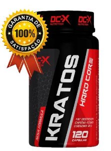 1X - Kratos Hardcore Dc-x Nutrtiion 120 Capsulas