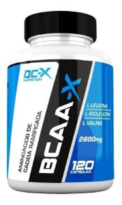 Bcaa-x 2600mg (120 Caps) - Dc-x Nutrition