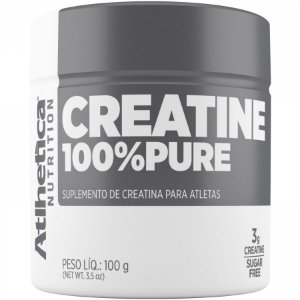 CREATINA 100% PURE - 100G - (PRO SERIES) ATLHETICA