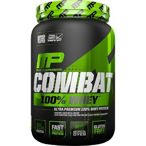 COMBAT 100% WHEY (907G) - MUSCLE PHARM