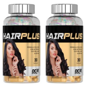 2x HAIR PLUS - Tratamento 60 Dias