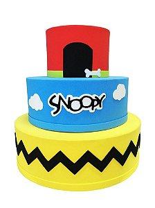 Bolo Fake Snoopy