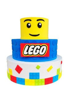 Bolo Fake Lego