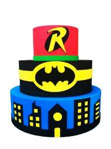 Bolo Fake Batman e Robin