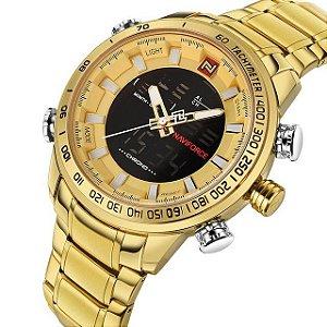 c4a173758be Relógio Naviforce Digital 9093 - 55% OFF + Frete Grátis - Shop Atrativo