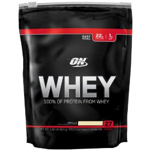 100% Whey Protein Gold Standard Refil (837g) - Optimum Nutrition