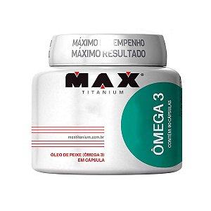 Ômega 3 (90 cápsulas) - Max Titanium