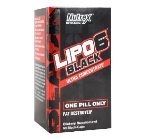 Lipo 6 Black Ultra Concentrado (60 cápsulas) Nutrex Research