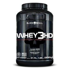 Whey 3HD (900g) Black Skull