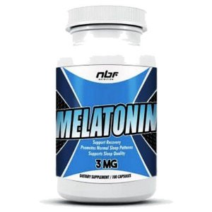 Melatonina (100 cápsulas) NBF Nutrition