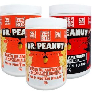 Pasta de Amendoim Sabores (1Kg) Dr. Peanut