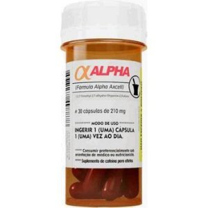 Cafeína Alpha (30 cápsulas) Power Supplements