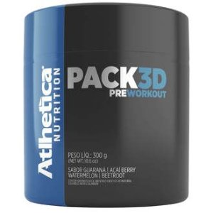 Pack 3D Pre Workout (300g) Atlhetica Nutrition
