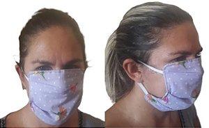 Mascara De Proteção Respiratória Lavável Dupla Face