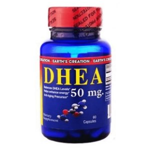 DHEA 50MG Earth's Creation  - 60 CÁPSULAS