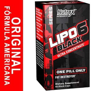 Lipo 6 Black Ultraconcentrado Nutrex 60 cápsulas
