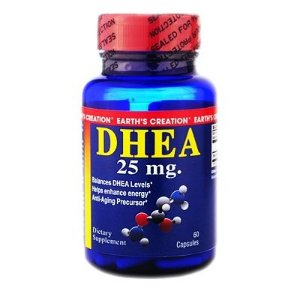 DHEA 25MG Earth's Creation  - 60 CÁPSULAS
