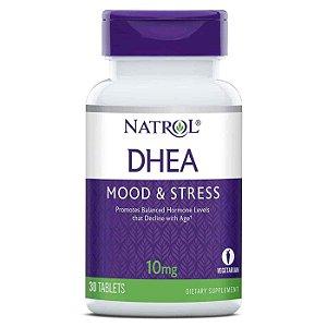 DHEA, Natrol, 10mg, 30 comprimidos