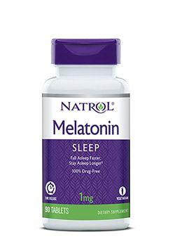 Melatonina 1mg Time Release (Liberação Lenta) - Natrol - 90 comprimidos
