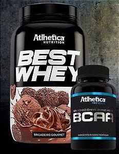 Best Whey 900g + Bcaa 60 capsulas