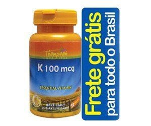 Vitamina K 100mcg - 30 Cápsulas - Thompson