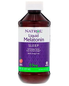 Melatonina liquida  2,5mg - 237 ml- Natrol