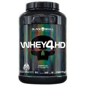 Whey 4HD 907 g - Black Skull