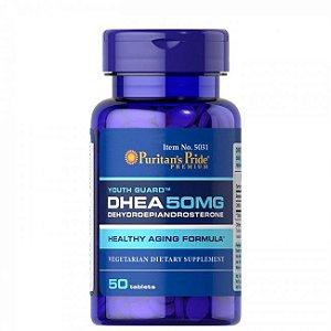 Dhea 50mg - Puritan's Pride - 50 Comprimidos