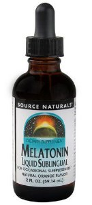 Melatonina Líquida 1 mg - Sabor Laranja - Source Naturals-59 ML