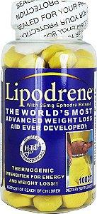 LIPODRENE - Hi-Tech Pharma (100 cápsulas)