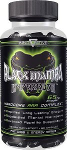 Black Mamba Fat Burner Hyper Rush, Innovative Laboratories, 90 Caps