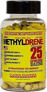 Methyldrene 25 - 100 Cápsulas - Cloma Pharma