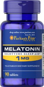 Melatonina 1mg Puritans Pride, 90 Comprimidos