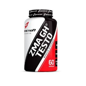 ZMA GH Testo - 60 Cápsulas - BodyAction