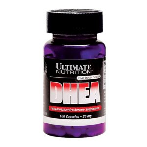 DHEA 25mg Ultimate Nutrition 100 Cápsulas