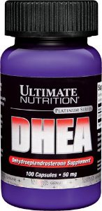 DHEA 50mg Ultimate Nutrition 100 Cápsulas