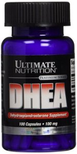 DHEA 100mg Ultimate Nutrition 100 Cápsulas