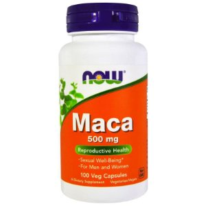 MACA - 500MG - 100 CÁPSULAS - NOW FOODS