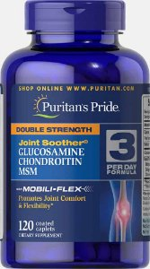 Glucosamina + Condroitina & Msm Puritan's Pride 120 Cápsulas