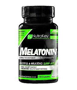 Melatonina Nutrakey 3mg,  100 Capsulas