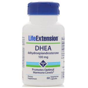 Dhea Life Extension 100 mg, 60 Capsulas