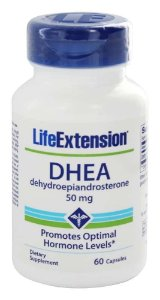 Dhea 50 mg Life Extension, 60 capsulas