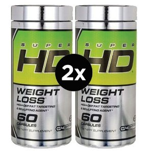 2X Super Hd Cellucor, Perda de Peso, 60 Cápsulas