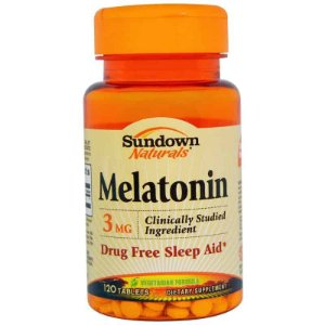 Melatonina 3mg Sundown Naturals, 120 comprimidos ( vegetariana )