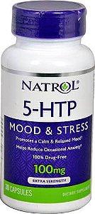 5-HTP, Natrol 100mg 30 Capsulas
