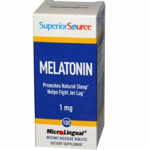 Melatonina 1mg, Superior Source, 100 comprimidos microlingual