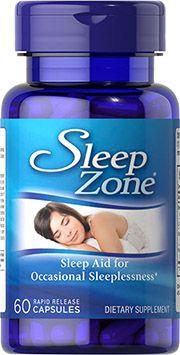 Melatonina 10mg (Sleep Zone) - Puritan's Pride - 60 Capsulas