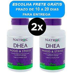 2X DHEA 25MG, NATROL, 300 COMPRIMIDOS