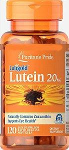 Luteína 20mg com Zeaxantina – 120 Cápsulas